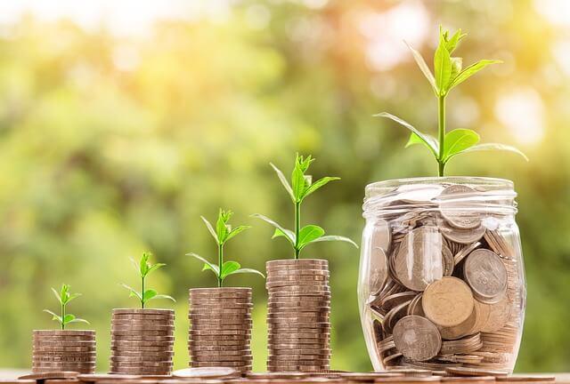 Vermögen aufbauen Zinsen